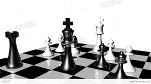 White Chess Set Animation Of Chess Set In Motion Game Over Stock Animation 3722823