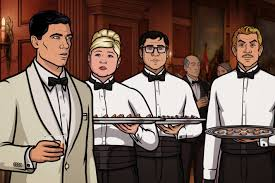 archer cartoon archer recap lingua franca