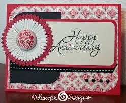 anniversary card s designs cards creations