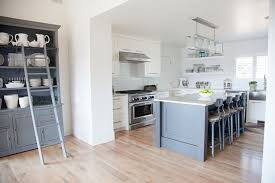 Grey Shaker Kitchen Cabinets by Liv Showroom Kitchens Light Kitchen Hardwood Floors Gray