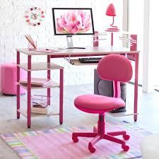 desk chairs cute white purple kids computer desk roller chair