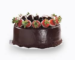 strawberry ganache cake product details