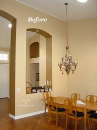 adding crown molding to before after the secret to installing crown molding on a vaulted