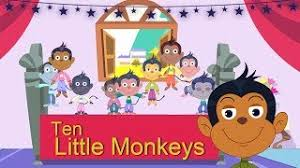 No More Monkeys Jumping On The Bed Song Hmongbuy Net Five Little Monkeys Jumping On The Bed Children
