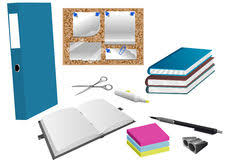 objet bureau objet de bureau photo stock image du objets vous details 6663030