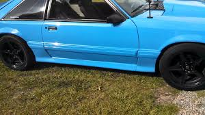 fox mustang coupe for sale grabber blue fox for sale