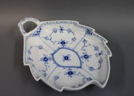 no 357 porcelain cake dish by arnold king for royal copenhagen