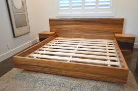 custom bed made of local monkey pod wood u2013 satoshi yamauchi woodworks