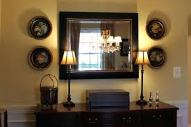stylish decorating with mirrors in dining room buffet mirrors
