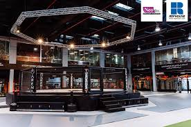 neoflex 600 series bfc rubber fitness flooring arena saudi mma