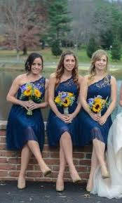 marine bridesmaid dresses david s bridal f15711 one shoulder marine size 6 buy this