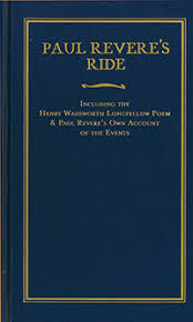 paul revere s ride book applewood books paul revere s ride