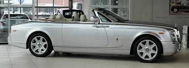 rolls royce white phantom file rolls royce phantom drophead coupé u2013 seitenansicht 10