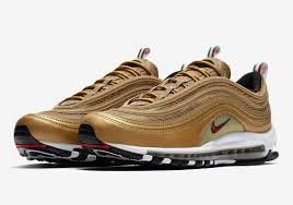 Itlaly Flag Nike Air Max 97 Metallic Gold