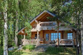 Beautiful Log Home Interiors I Also Love Log Cabins This Is A Nice Combination Of Bungalow And