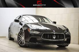 maserati sports car 2015 2015 maserati ghibli stock 146336 for sale near sandy springs