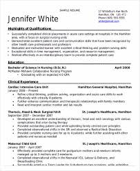 Resume Nursing Skills And Abilities Nursing Student Resume Samples And Tips