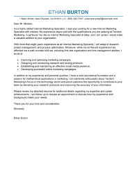 best online marketer and social media cover letter examples