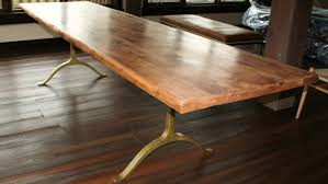 rustic metal and wood dining table table chair rustic wood dining table with metal legs designs
