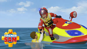 fireman sam official ocean flames