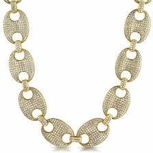 link necklace images Gold gucci link necklace amerikan gold jpg