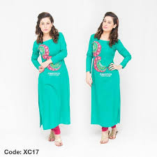 women colourful stylish kurta dresses collection 2017 2018 by