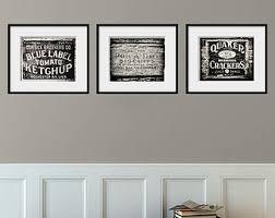 Modern Kitchen Wall Art - wall art ideas design rectangular framed photography wall art