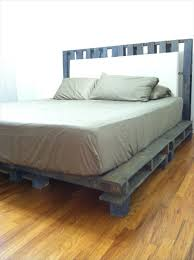 Bed Frame Made From Pallets 34 Diy Ideas Best Use Of Cheap Pallet Bed Frame Wood Pallet