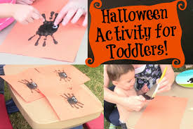 halloween spider activity for toddlers youtube