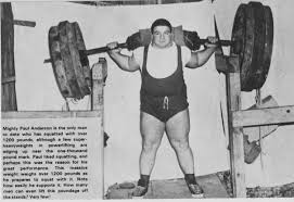 Olympic Record Bench Press How Paul Anderson Became One Of History U0027s Strongest Humans Barbend