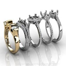ring settings without stones classic mountings are an choice