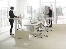 Stylish Office What To Consider About The Use Of Standing Height Adjustable Desk