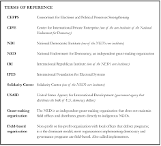 reforming the democracy bureaucracy foreign policy research