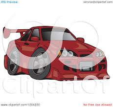 red nissan sports car clipart of a dark red nissan skyline gt r sports car royalty
