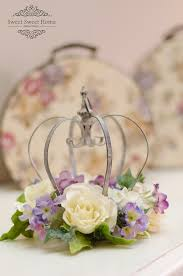 crown centerpieces crown centerpiece with flowers decorative crown centerpieces and