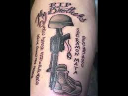 army tattoos for