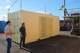 shipping containers make headway as housing options yes with
