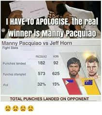 Manny Pacquiao Meme - manny pacquiao vs jeff horn after the fight a as pacquiaohorn