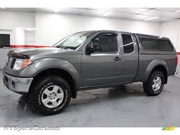 nissan frontier king cab 2005 nissan frontier se king cab 4x4 in storm gray metallic photo