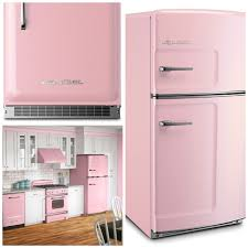 Pink Kitchen Accessories by Taste The Rainbow Vintage Kitchens Of Every Shade Big Chill