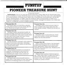 outdoor scavenger hunt riddles