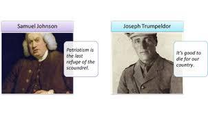 Samuel Johnson Meme - theodosia and the pirates patriotism good and bad