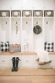 decorating the mudroom and guest room for the holidays pier 1