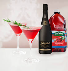 red martini bottle cranberry bubbly martini old orchard brands