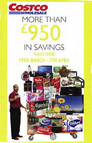 costco coupons april costco uk coupon book march april addicted to
