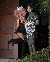christina aguilera u0026 matthew rutler leave the house dressed up for