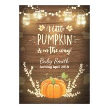 baby in thanksgiving invitations announcements zazzle