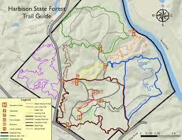 Columbia Sc Map Scfc Harbison Trail Guide