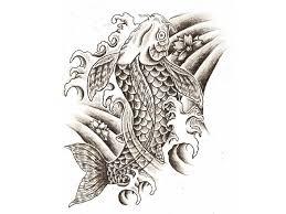 famous attractive koi fish tattoo design tattooshunter com