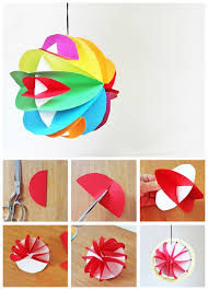 3d craft with paper my